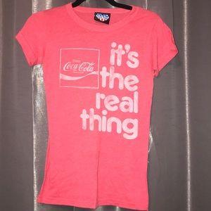 Junk Food Coca Cola T-shirt Size Small